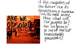 are we obsolete?