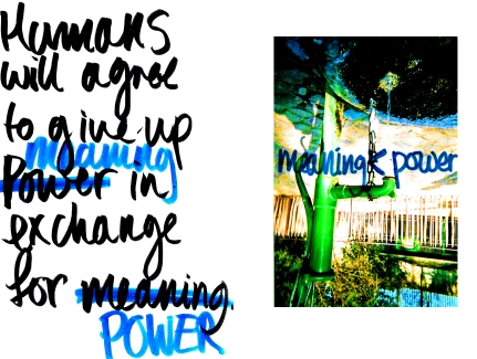 meaning<power